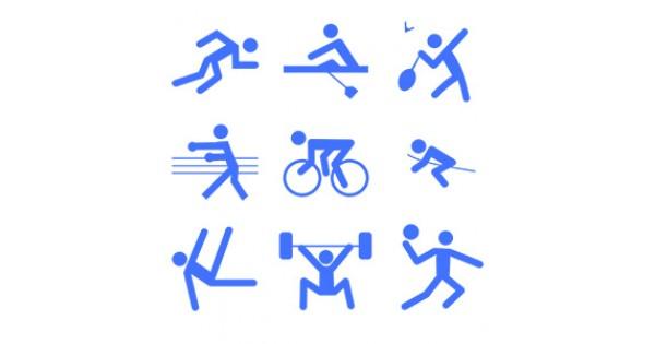 картинки спорт схематические также