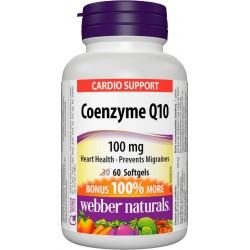 Coenzyme Q10 100mg (60 softgels)