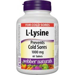 L-Lysine 1000mg (60 tabs)