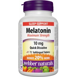 Melatonin M. S. 10mg (72 tabs)