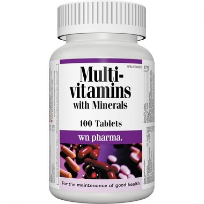 Multi Vitamin with Minerals One Per Day (100 tabs)