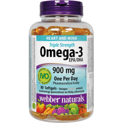 Omega-3 900mg (80 softgels)
