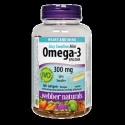 Omega-3 Mini 300mg (180 softgels)