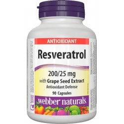 Resveratrol 200/25mg (90 caps)