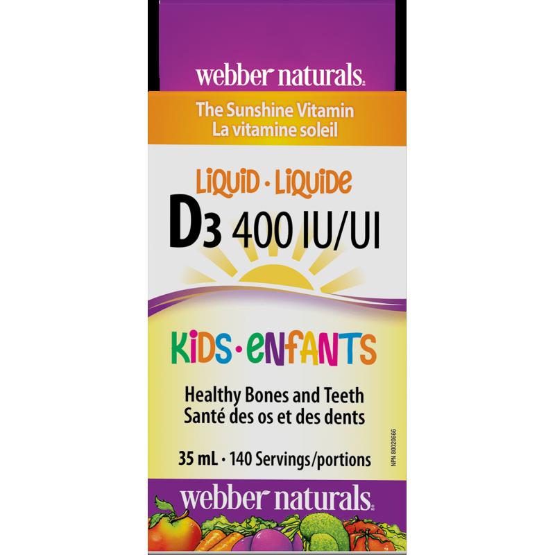 Vitamin D3 400 IU Kids (35 ml)