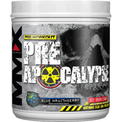 ALLMAX - Muscle Maxx Apocalypse Pre-Workout Blue Wraithberry (320 g)