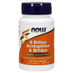 8 Billion Acidophilus & Bifidus (60 caps)