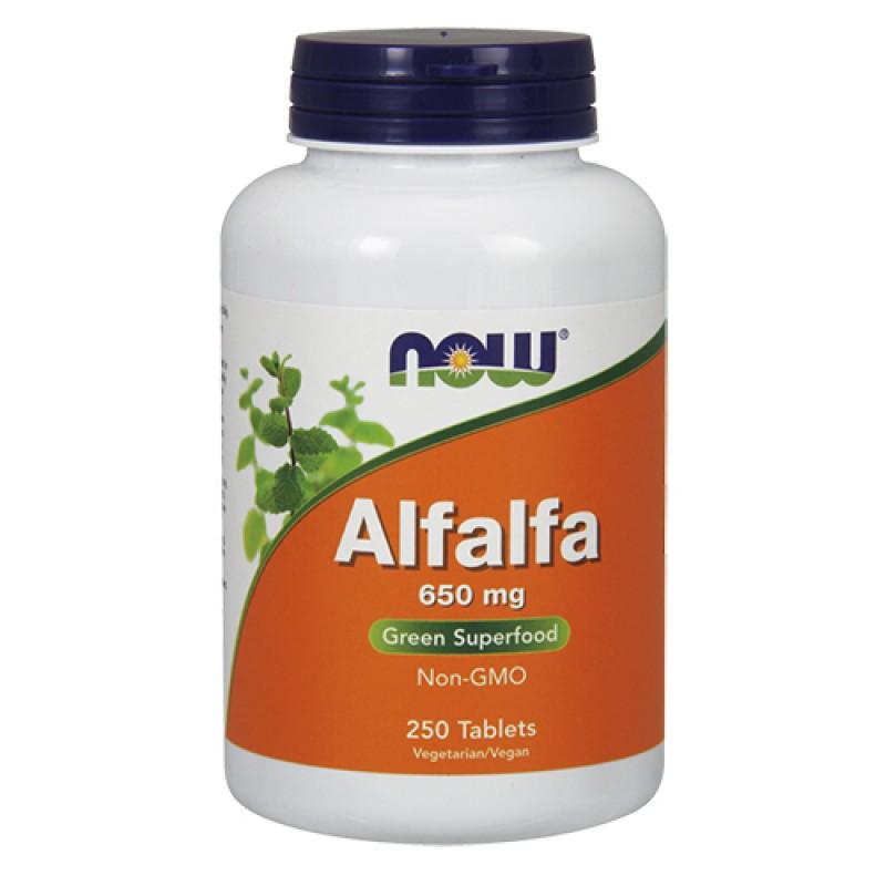 NOW - Alfalfa 650mg (250 tabs)