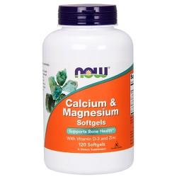 Calcium & Magnesium Softgels (120 softgels)