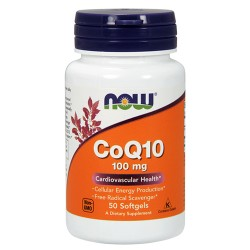 CoQ10 100mg (50 softgels)