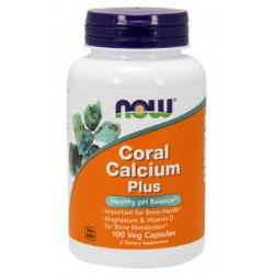 NOW - Coral Calcium Plus (100 caps)