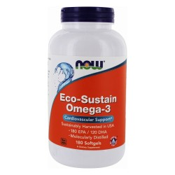 NOW - Eco-Sustain Omega-3 (180 softgels)