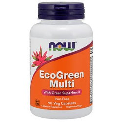 NOW - EcoGreen Multi (90 caps)