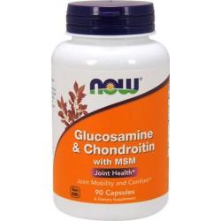 Glucosamine & Chondroitin, MSM (90 caps)