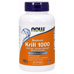 NOW - Krill 1000 (60 softgels)