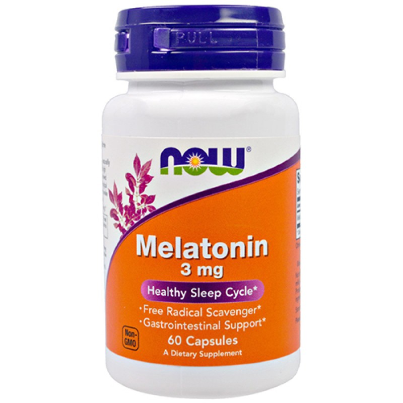 NOW - Melatonin 3mg (60 caps)