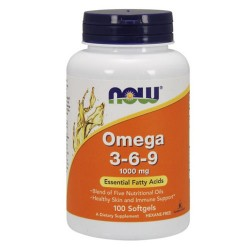 Omega 3-6-9 1000mg (100 softgels)