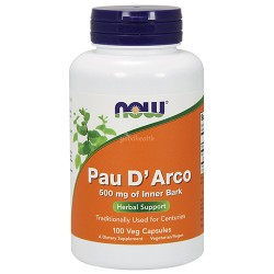 NOW - Pau D Arco 500mg (100 caps)