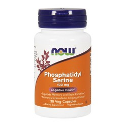 NOW - Phosphatidyl Serine 100mg (30 caps)