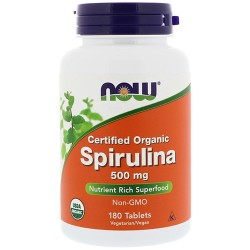 Spirulina 500mg (180 tablets)