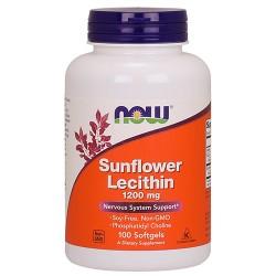 Sunflower Lecithin 1200mg (100 softgels)