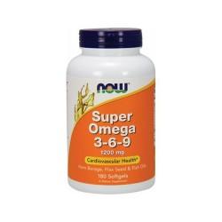 NOW - Super Omega 3-6-9 1200mg (180 softgels)
