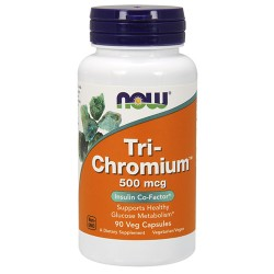 NOW - Tri-Chromium 500mcg with Cinnamon (90 caps)