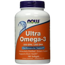 NOW - Ultra Omega-3 (180 softgels)