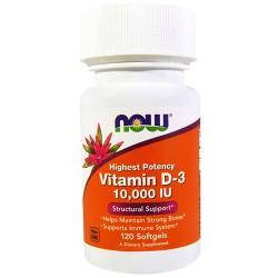 Vitamin D-3 10000 IU (120 softgel)