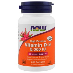 Vitamin D-3 5000 IU (240 softgels)