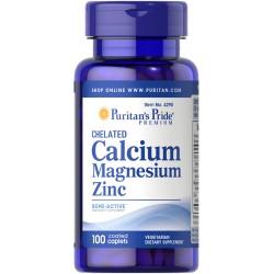 Calcium Magnesium Zinc (100 caplets)