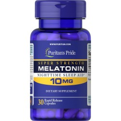 Melatonin 10mg (30 caps)