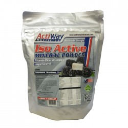 ACTIWAY - Iso Mineral Powder Brombeere (600 g)