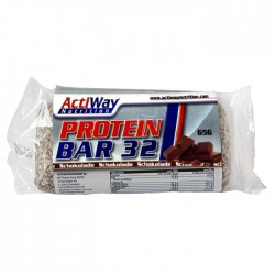 ACTIWAY - Protein Bar 32 Chocolate (65 g)
