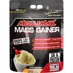Muscle Maxx Mass Gainer Vanilla (5.44kg)