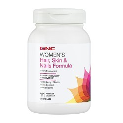 GNC - Hair, Skin & Nails (120 tabs)