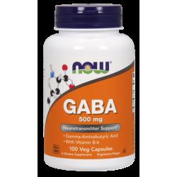 GABA 500mg (100 caps)