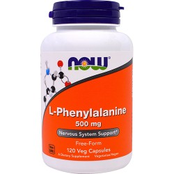 NOW - L-Phenylalanine 500mg (120 caps)