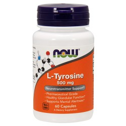 L-Tyrosine 500mg (60 caps)