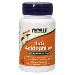 4x6 Acidophilus (60 caps)