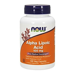 Alpha Lipoic Acid 100mg (120 caps)