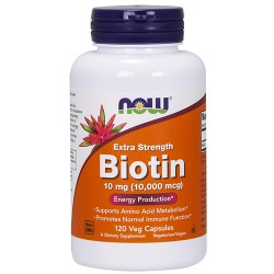 NOW - Biotin 10 mg (120 caps)