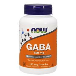 GABA 750mg (100 caps)