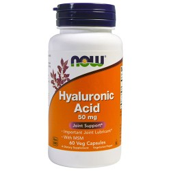 NOW - Hyaluronic Acid 50mg (60 caps)