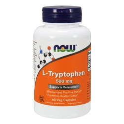 L-Tryptophan 500mg (60 caps)
