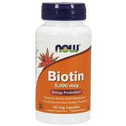 Biotin 5000 mcg (60 caps)