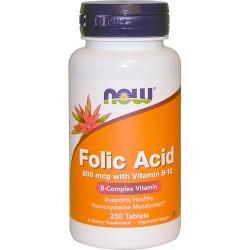Folic Acid with Vit. B12 (250 tabs)