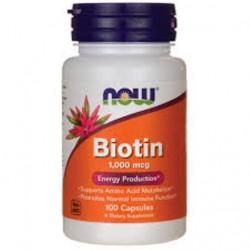 Biotin 1000mcg (100 caps)
