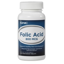 GNC - Folic Acid 800 (100 tabs)