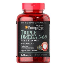 Puritans Pride - Triple Omega 3-6-9 (60 softgels)